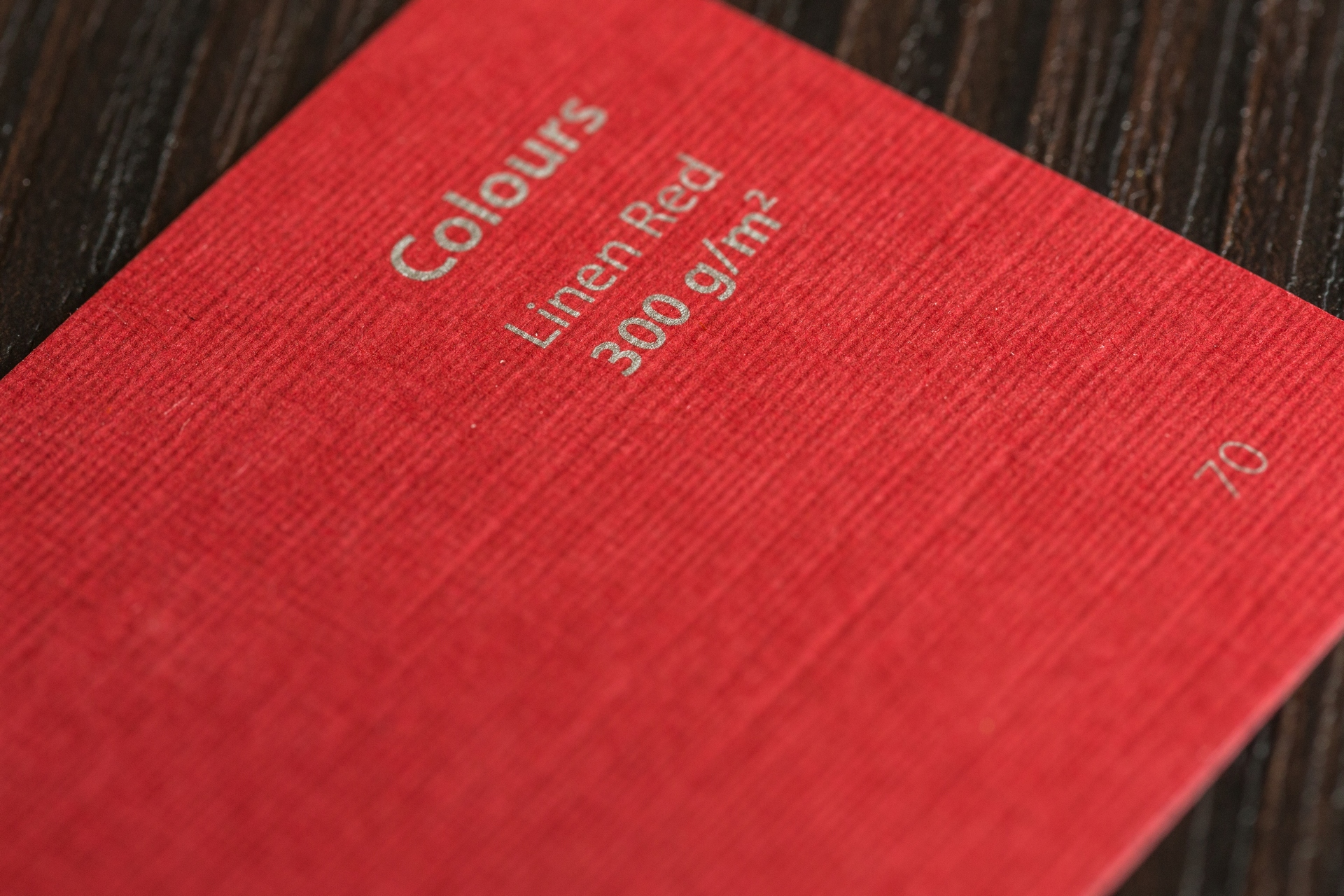 M Colours Linen Red